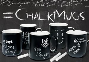 Chalk Mugs